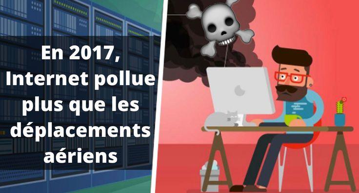 A l'occasion de la journée de la Terre (le 22 avril dernier), le site Kualo a imaginé une infographie qui montre comment internet pollue l'envir