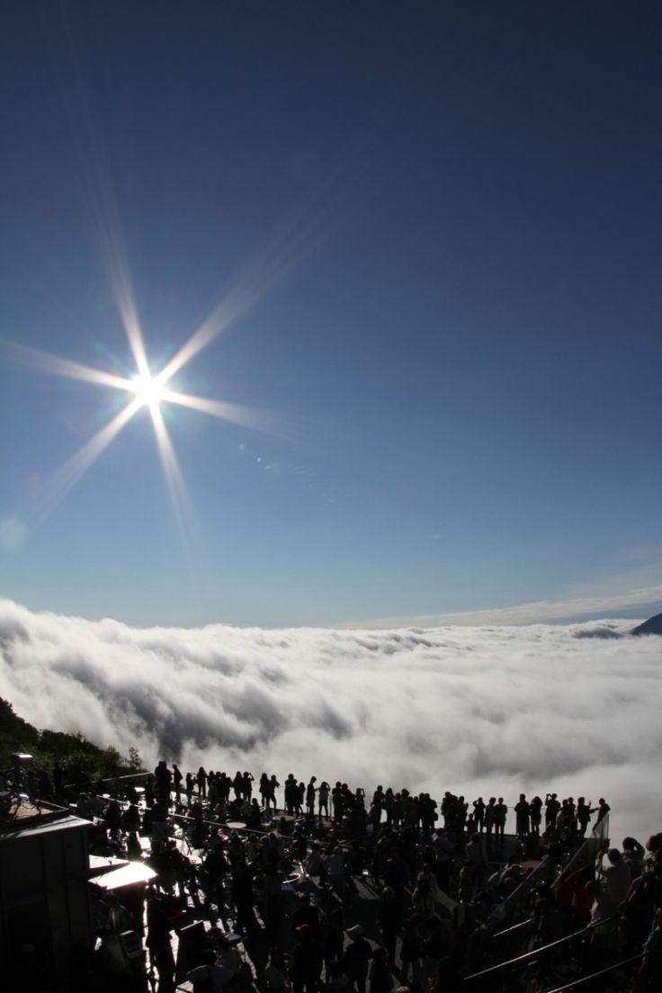 雲海テラス トマム See of cloud,Tomamu,Japan