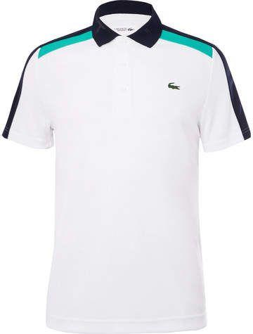 c883a73c Lacoste Tennis Tech-Piqué Tennis Polo Shirt | MENS LACOSTE | Sports ...