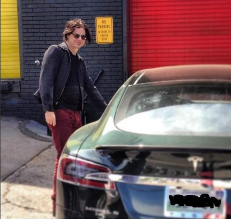 photo of Jack White Tesla S - car