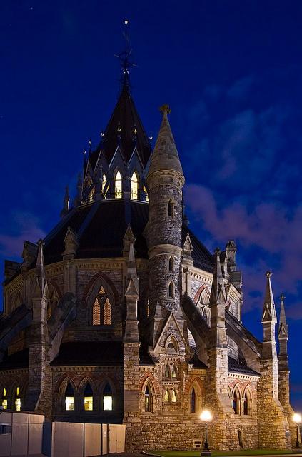 Senate Library, Ottawa, Canada. I want this to be my house. I dream big. http://awesome-canada.com/ #Ottawa #Canada