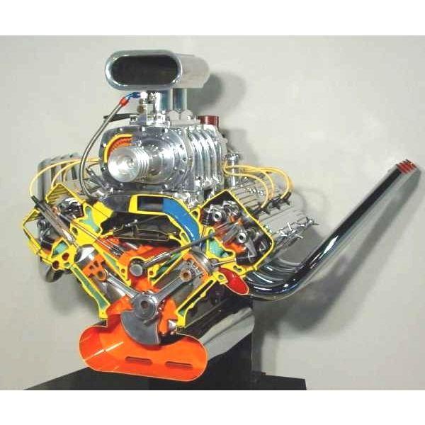 Chrysler Hemi Cut Away - Museum Of American Speed