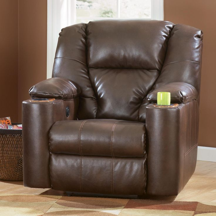 Paramount DuraBlend®   Brindle Zero Wall Recliner With Cup Holders By  Signature Design By Ashley At Del Sol Furniture