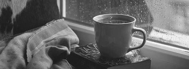 coffee and a book lazysunday facebook cover photo