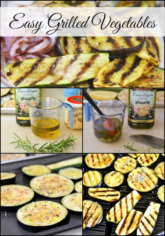 easy grilled summer vegetables, grilled eggplant, grilled, summer vegetable recipes
