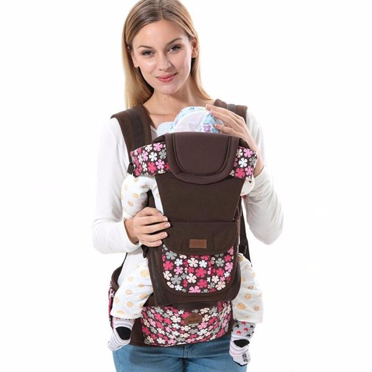 8 in 1 Ergonomic Baby Carrier sling 2017 Breathable baby kangaroo hipseat backpacks carriers removeable backpack sling