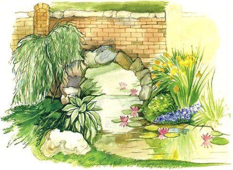 зеркало в саду - Поиск в Google