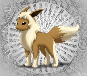 Pokemon eevee: shiny stone