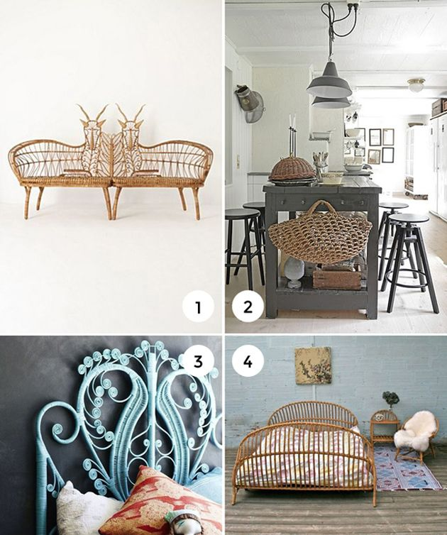 11 Ways to Add Wicker into Your Home on the Interior Collective