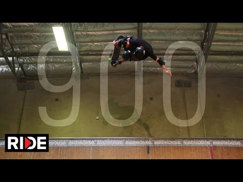 Tony Hawk Does A '900' At Age 48 Because He's Still The Man...... lol he's a year older than me and in afraid of falling down