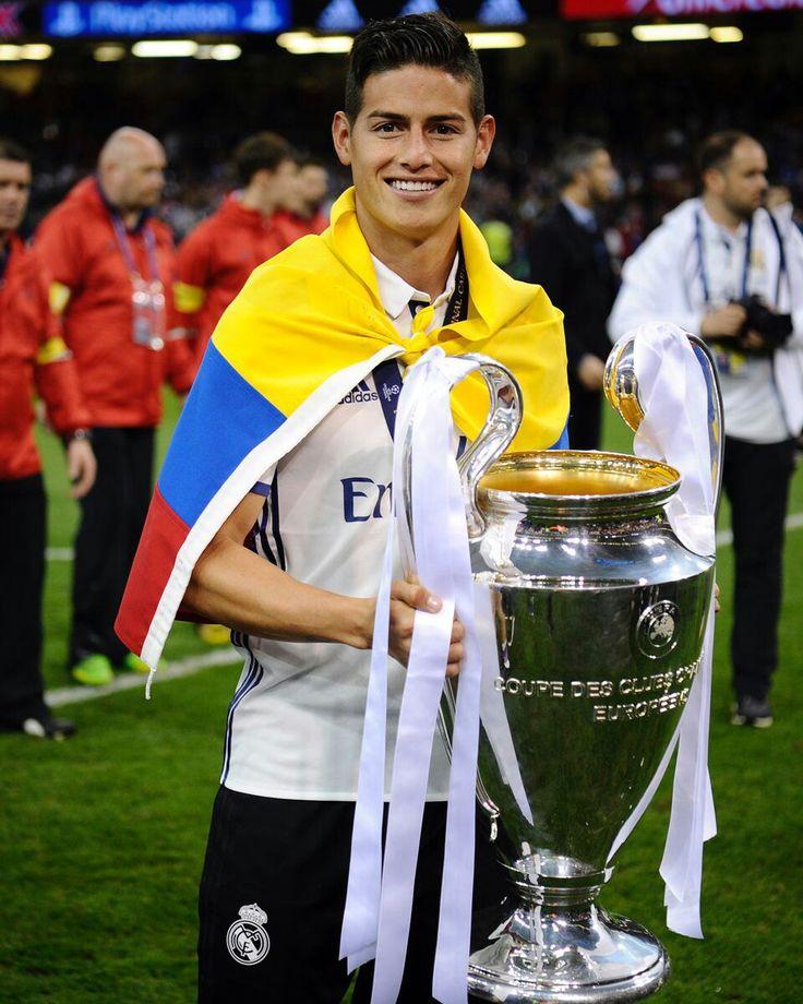 James Rodríguez Juni 3, 2017. Real Madrid ...