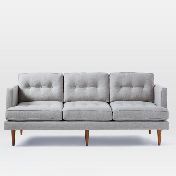 mid century sofa buy uk carlo mid century sofa granite. Black Bedroom Furniture Sets. Home Design Ideas