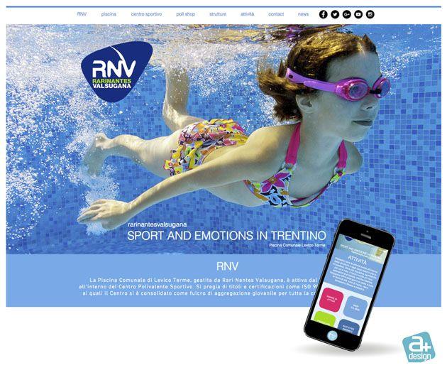Sito web realizzato per rarinantesvalsugana Centro Polivalente Sportivo di Levico Terme. http://www.rarinantesvalsugana.com/