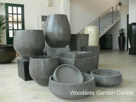 New 2015 Range Of Riverstone Large Garden Pots