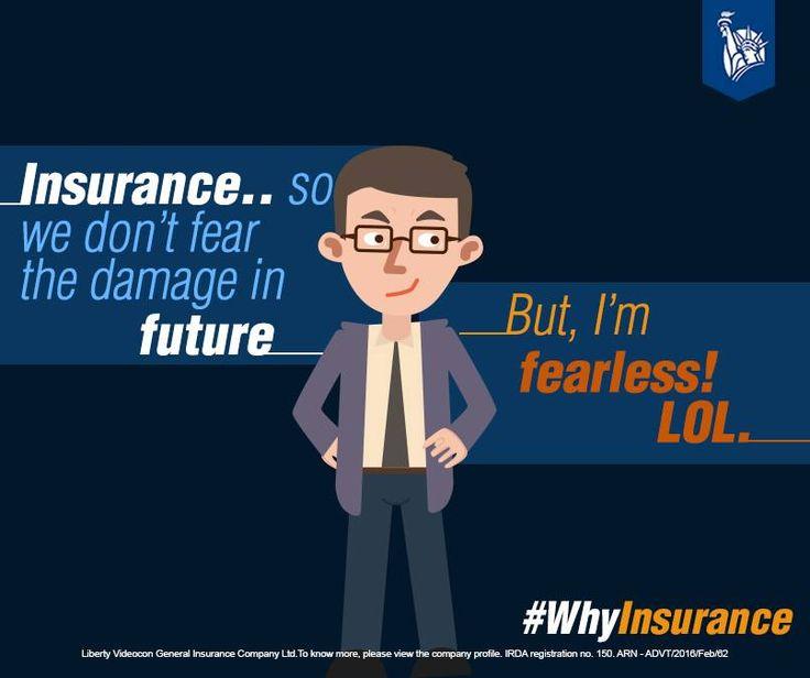 Mr. Neel believes darr k aage jeet hai! So… #WhyInsurance