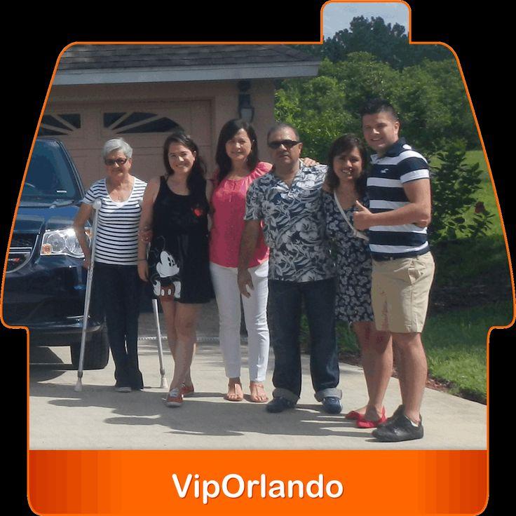 Gracias EDWIN MARROQUIN de #Guatemala por contar con nosotros en tus vacaciones familiares en #Orlando