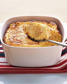 Cheddar-Corn Spoon Bread - Martha Stewart Recipes