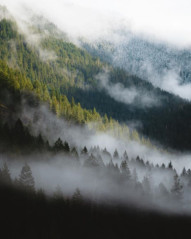 The changing of seasons in the North Cascades