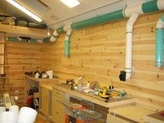 """New Woodshop Construction #2: My """"Green"""" Dust Collection System - by Patrick Jaromin @ LumberJocks.com ~ woodworking community"""