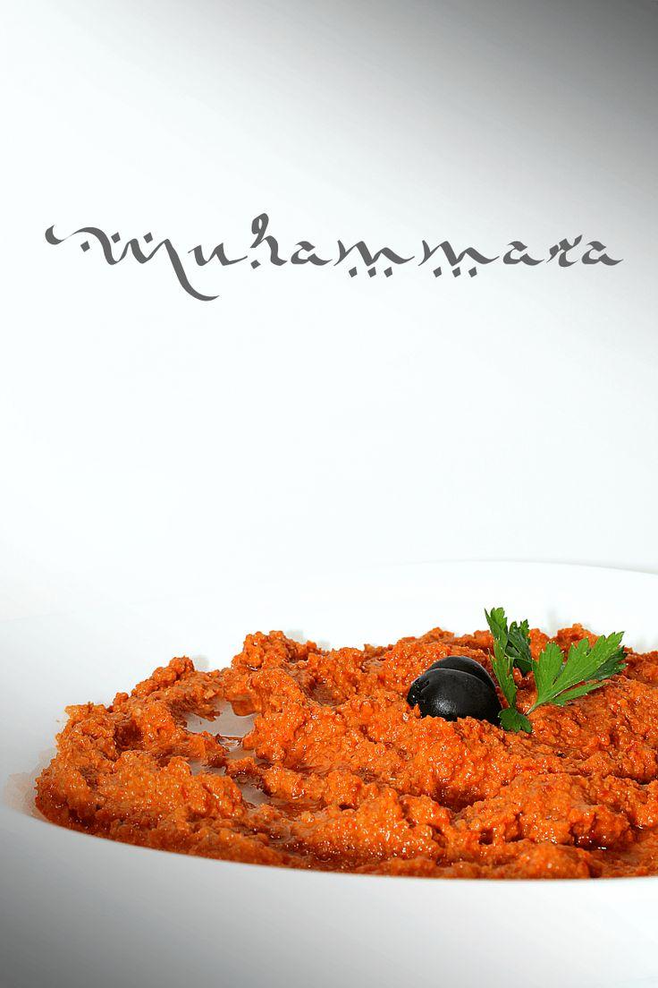 Muhammara, originario de Siria, hecho con pimientos asados y nueces- LAS SALSAS…