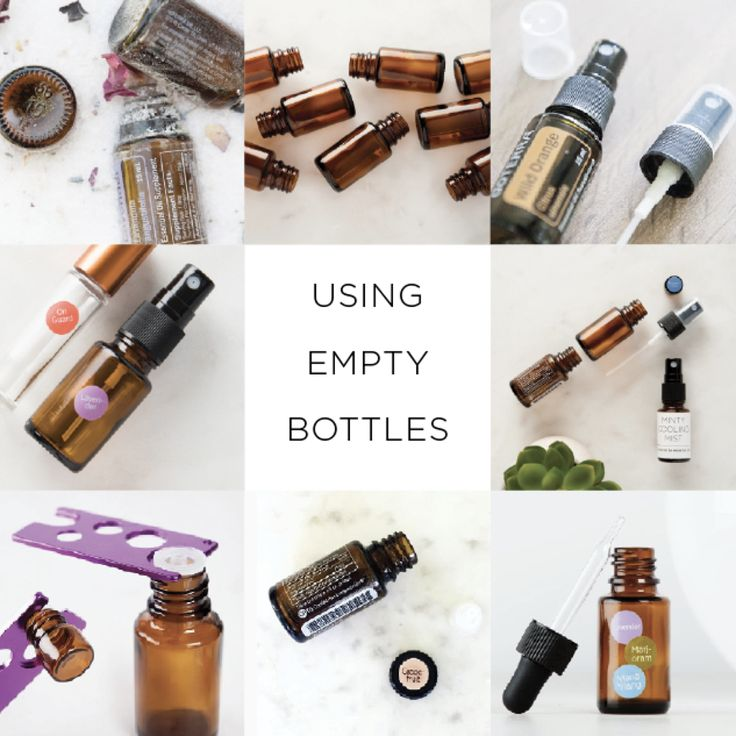 Do you want to cry a little bit when you use that last drop of Frankincense? Did you know that 'empty' bottle can have an entire second life? Here are my favori