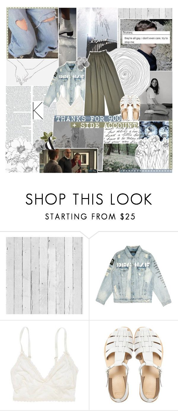 """""""THANKS FOR 900 & MY SIDE ACCOUNT."""" by colormecosmic ❤ liked on Polyvore featuring Piet Hein Eek, American Eagle Outfitters and ASOS"""