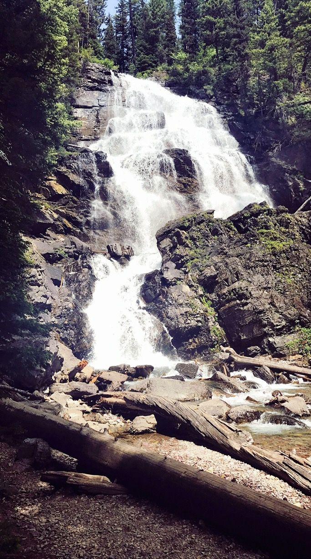 Morrell Falls... Seeley Lake, MT  •• #MorrellFalls #Montana #SeeleyLake #HikeMontana #Beautiful #Adventure #MontanaGirl #ExploreMontana