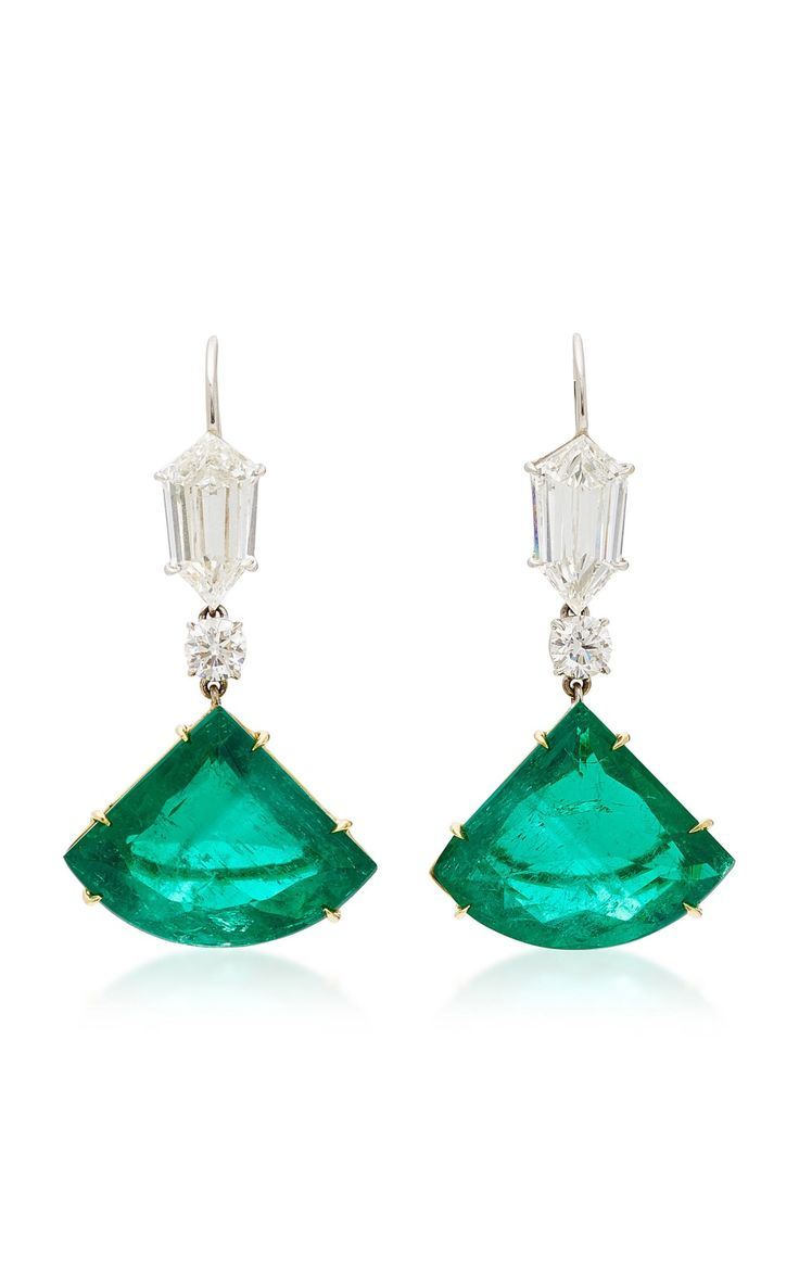 Best 25+ Emerald earrings ideas on Pinterest