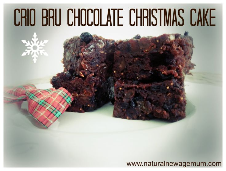 A heavenly Crio Bru #chocolate #christmas cake #recipe for Thermomix - More #Thermomix gifting ideas at: http://www.superkitchenmachine.com/2012/17688/thermomix-gift-recipe.html