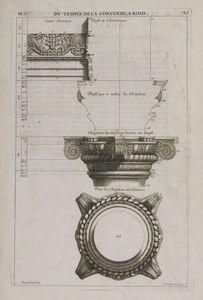 Du Temple De La Concorde, À Rome | Sanders of Oxford