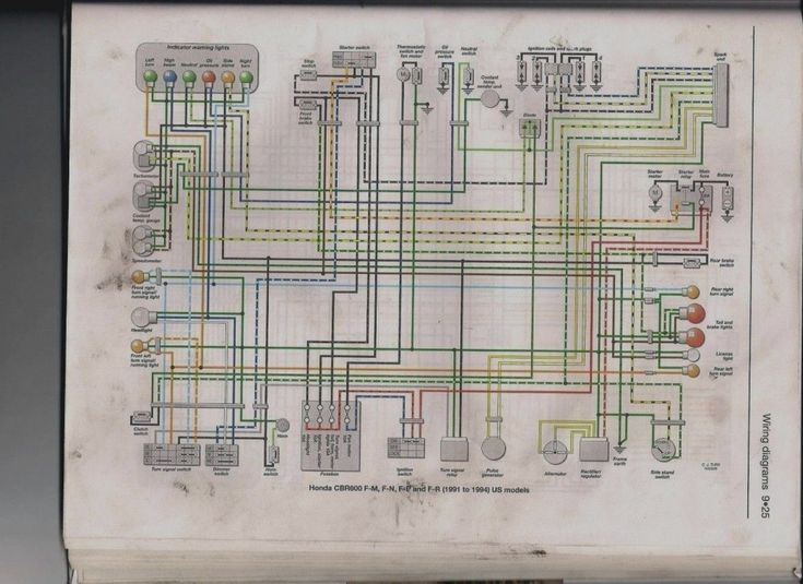 Elegant Cbr 600 F4 Wiring Diagram Pdf Free Honda