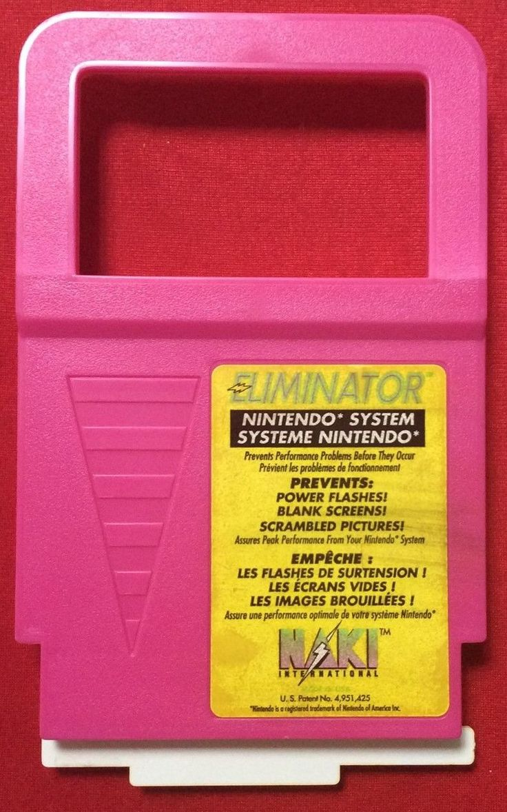Nintendo System Cleaner - The Eliminator