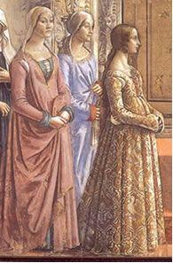 Abbigliamento femminile del rinascimento