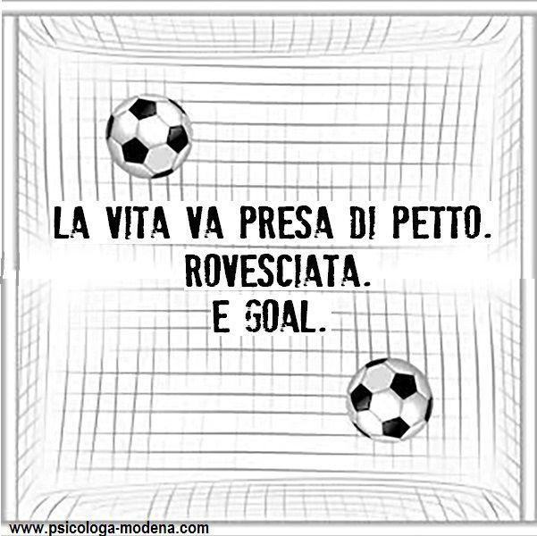 Occasioni? Quali occasioni? Le occasioni le creo io. #aforisma #vita #vivere #calcio