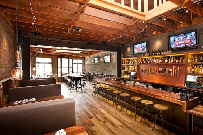 The 2 400 Square Foot Bar And Restaurant Has Distressed