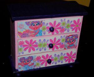 Abby Cadaby Girls Jewelry box