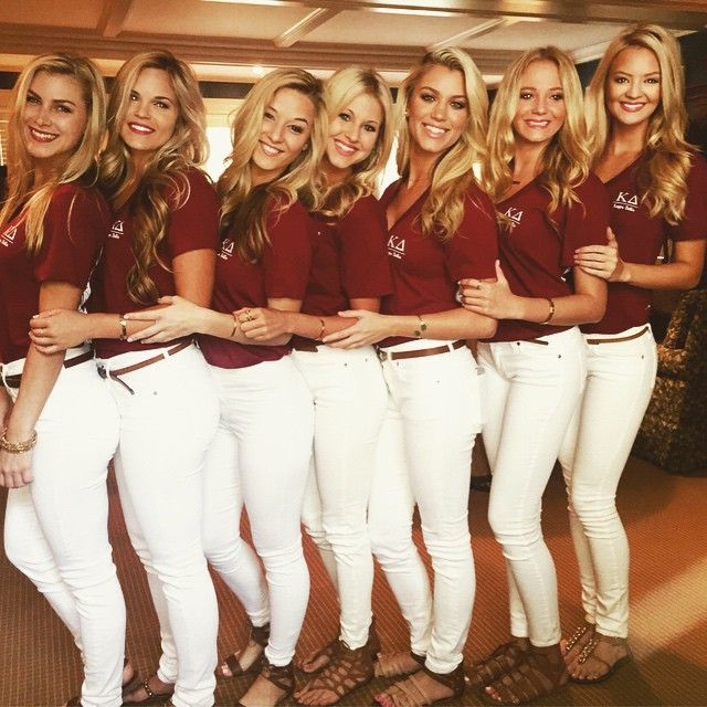 Kappa Delta recruitment at FSU