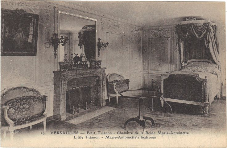 83 best images about pt1 chambre marie antoinette on for Chambre de la reine versailles