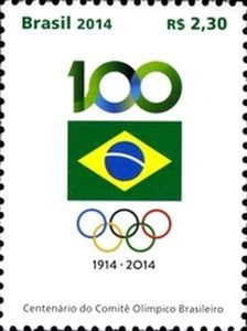 Centenary of the Brazilian Olympic Committee