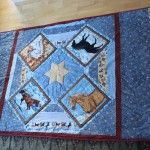 A quilt for a horse lover