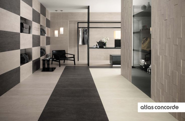 #MARK chrome, gypsum and graphite | #AtlasConcorde | #Tiles | #Ceramic | #PorcelainTiles