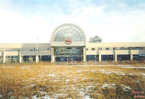 Train Station Petržalka, 2000, Atlas, Ján Polášek and Boris Džadoň