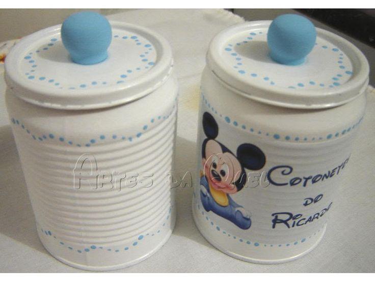 Que hacer con las latas de leche (formula de bebé) ya puse mas