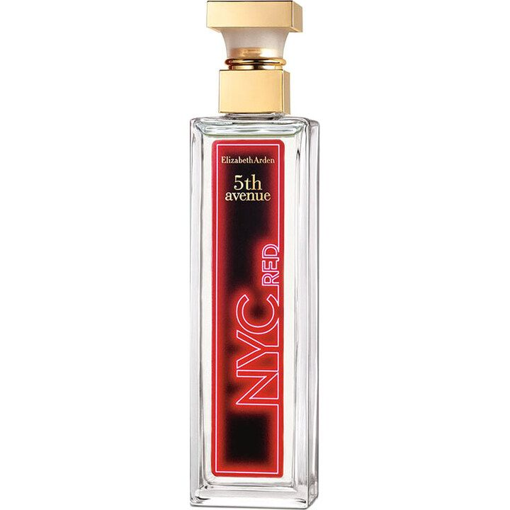 5th Avenue Nyc Red By Elizabeth Arden 2019 Nyc Perfume Perfume Perfume Design