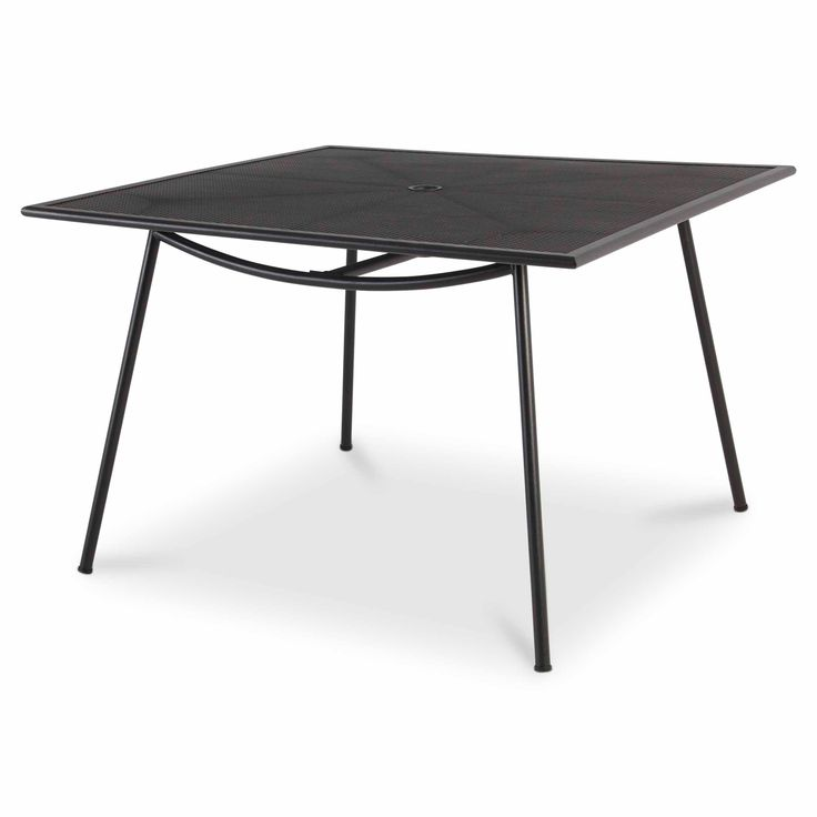 Adelaide Metal 4 Seater Dining Table - B&Q for all your home and garden supplies and advice on all the latest DIY trends