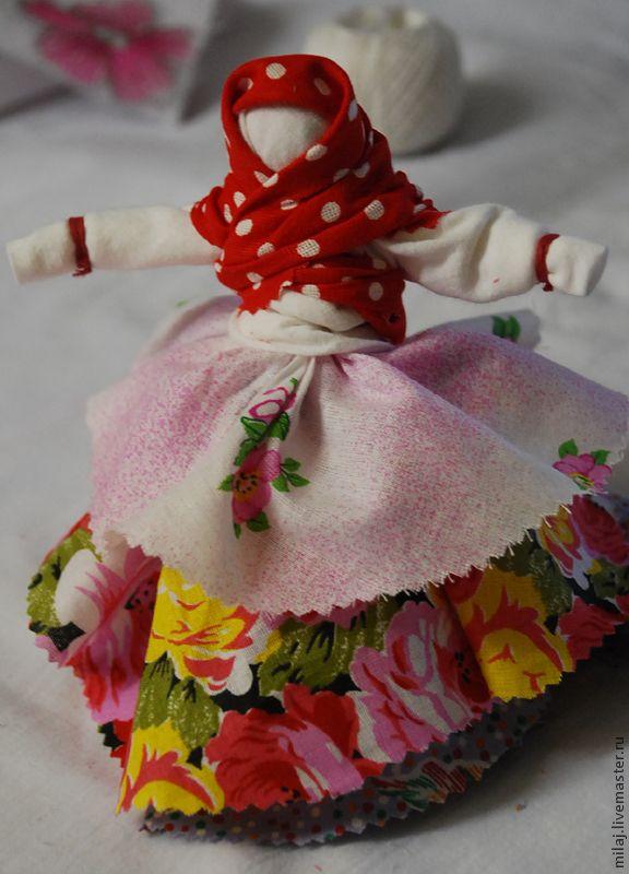 """Кукла-мотанка """"Колокольчик"""" своими руками - Ярмарка Мастеров - ручная работа, handmade"""