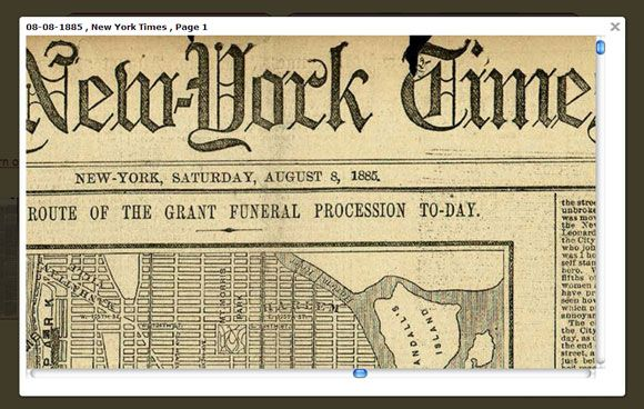 Six places to read old newspapers online