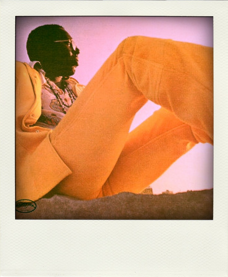 """Curtis Mayfield. I might add that this shot is the cover shot of the album, """"Curtis"""" which is a classic."""
