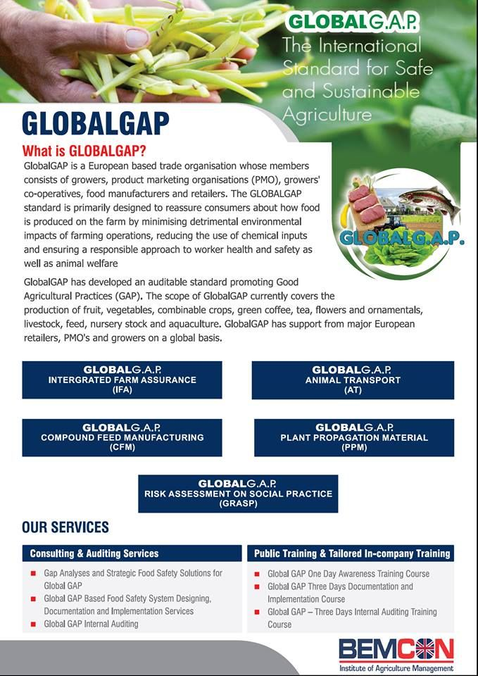 #GlobalGAP the International Standard for safe and sustainable #Agricultural. http://goo.gl/BFfQxe