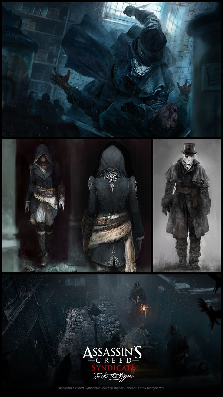 Check out Assassin's Creed Syndicate: Jack the Ripper concept art by Morgan Yon! http://conceptartworld.com/?p=41984